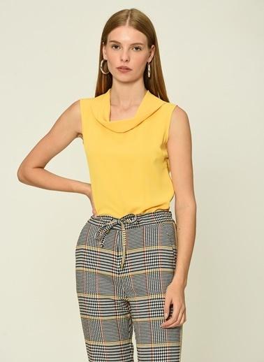 Esra Gürses Gömlek Sarı